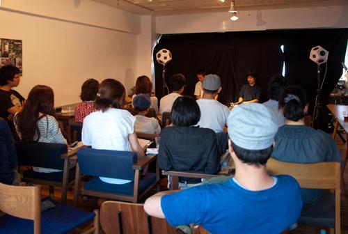 -報告- 9/11 sun. ワークショップ「音楽の背景に耳を澄ます」@大阪 graf bld.4F