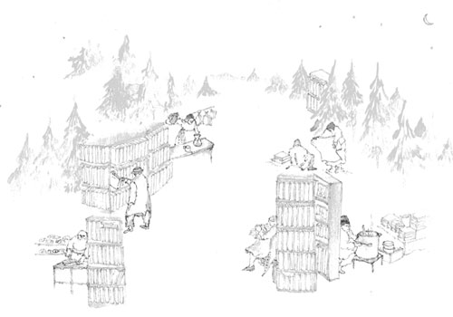 1/28 「冬の森で過ごす夕べ」-木の仕事、そして本と音楽とコーヒーについてのお話会- @秋篠の森 月草