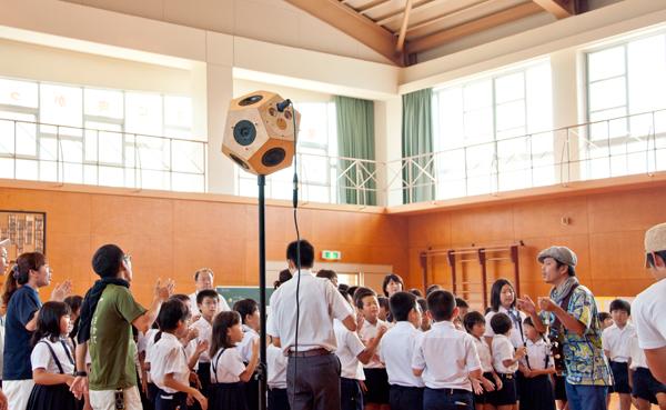 -報告-【2014/9/5 第3回目】馬木の寺子屋 -真夏の親子課外授業-「聴く」ことにまつわる観察から創造へのワークショップ@[小豆島]馬木地区